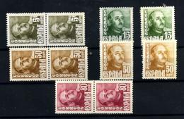 España Nº 1020/23. Año 1948/54 - 1931-50 Nuevos & Fijasellos