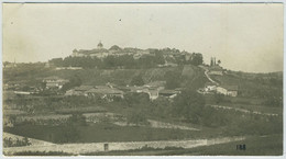 Pérouges (Ain), Vue Prise Du Péage. 1895. - Antiche (ante 1900)