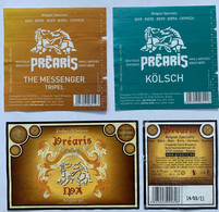 Etiketten 2n1 Prearis Brewery Vliegende Paard Brouwers - Beer
