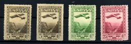 España Nº 650d, 651/2. Año 1931 - 1931-50 Nuevos & Fijasellos