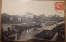 Carte Postale Le Pecq La Gare 1935 - Le Pecq