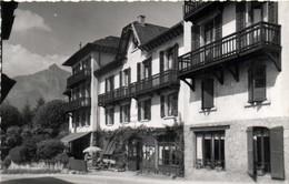 Carte Photo Hotel Restaurant Saint Gervais Les Bains Recto Verso Photo FUMEX Ciné Saint Gervais Les Bains - Saint-Gervais-les-Bains
