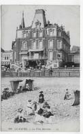 (RECTO / VERSO)LE HAVRE EN 1912 - N° 480 - LA VILLA MARITIME AVEC PERSONNAGES - PLIS ANGLES EN HAUT - CPA VOYAGEE - Cap De La Hève