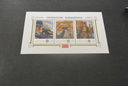 K22457 - Personalised Bloc MNh Nevis 2012 - Operation Barbarossa 1941 - WW2