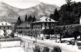Carte Photo Hotel Restaurant Du Mont Blanc  Recto Verso Photo FUMEX Ciné Saint Gervais Les Bains - Saint-Gervais-les-Bains