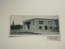 """Origineel Knipsel ( 9862 ) Uit Tijdschrift """"  De Stad """"  1933 :   Hoogstraten - Non Classificati"""