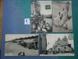 Lot 12 CPA France, Port France 2€ Lot1 - 5 - 99 Cartoline