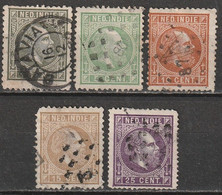 Inde Néerlandaise N° 3, 7, 8, 10, 12 Second Choix - Indie Olandesi