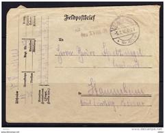 Feldpost Brief 1917, Mooi Lot K180 - 1914-18