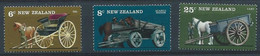 Z0063 - NEW ZEALAND 1976 - (598-602-603) - UNUSED - Nuevos