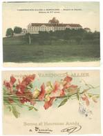 2 Cpa Varennes Sur Allier ( 1 Style Klein, L'autre Hospice De Gayette    ( S. 4274 ) - Autres Communes