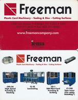 USA - Freeman Demo Card - Other