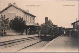 Gouhénans , Train En Gare , Animée - Ohne Zuordnung