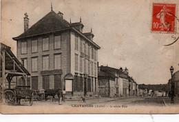 Carte Postale Ancienne - Circulé - Dép. 10 - CHAVANGES - Grande Rue - Other Municipalities