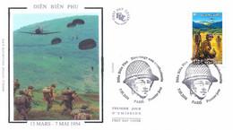 Enveloppe 1er Jour, Cinquantenaire De La Bataille De Dien Bien Phu (Vietnam), 2004 - Yt 3667 - 2000-2009