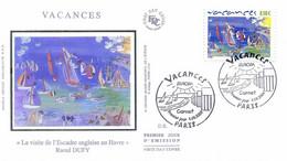 Enveloppe 1er Jour, Europa, Vacances 2004, - Yt 3672 - 2000-2009
