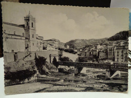 Cartolina  Cosenza Veduta Parziale E Chiesa S Francesco Di Paola Ponte  1955 - Cosenza