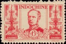 INDOCHINE - Amédée Anatole Prosper Courbet (1827-1885) - Unused Stamps
