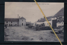 PHOTO LES BULLES CHINY LUXEMBOURG STATION TRAM REPRO - Chiny