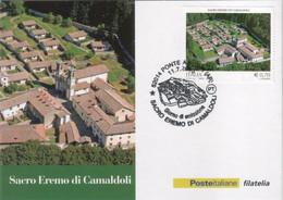 "Italia - 2013 - Cartolina Postale ""Sacro Eremo Di Camaldoli"" MNH** - Entero Postal"