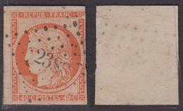 40c Orange Aspect TB à -35€ (Dallay N° 5, Cote 600€) - 1849-1850 Ceres