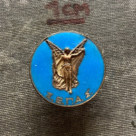 Badge Pin ZN009707 - Hellenic Athletics Federation (SEGAS) Greece - Athletics