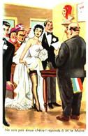 Illustrateur Carriere - Mariage, Ne Sois Pas émue Chérie Réponds à M Le Maire (395) Cocu En Devenir - Carrière, Louis
