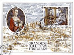 France Oblitération Cachet à Date BF N° F 5161 - Grandes Heures De L'histoire. Anne De France Et Traité De Picquigny - Afgestempeld