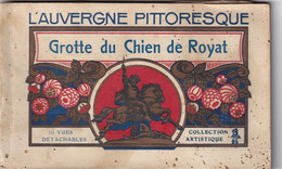 63 - Puy-de-Dôme - Carnet CPA Neuve -  Grotte Du Chien De Royat - 10 Vues - Royat