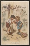 CPA Illustrée Fruits Défendus - Germaine Bouret - Circulée 1953 - Bouret, Germaine