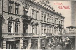 Romania / Roemenie : Bucuresli --- Calea Victoriei / Hôtel Frascali - Rumania