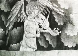 ►    Ange Joueur De Viole Violon Baroque Au XIV E (violonist Violin  Fiddle Angel) - Angeli
