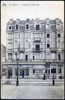DE PANNE : L'Hôtel Continental - De Panne