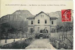 CPA  SAINT-JEAN - D'ARVEY  La Mairie , Les Ecoles  N° 2203 - Altri Comuni