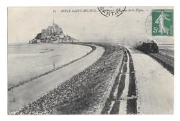 (28810-50) Le Mont Saint Michel - Coté Sud Vue Prise De La Digue - Le Mont Saint Michel