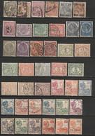 Indes Néerlandaises, Lot De 41 Timbres Différents. Années 1883-1932 - Indie Olandesi