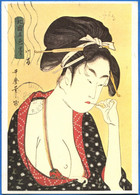 JAPAN / JAPON: Utamaro: Girl Of The River Bank, A Low Class Prostitute - Non Classificati