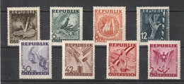 Oostenrijk 1946 Nr 638/45 **, Zeer Mooi Lot Krt 4438 - Collezioni (senza Album)