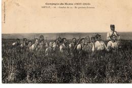 Militaria >MAROC- -  CAMPAGNE DU MAROC - 1907-1908- SETTAT Combat Du 12-EN POSITION D'ATTENTÉ -BE-Circulée - Other Wars