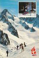 Savoie Mont Blanc - Albertville  Olympique 1992 -  Enjeu Olympique -  Les Trois Vallées  Descente Slalom Dames - Juegos Olímpicos