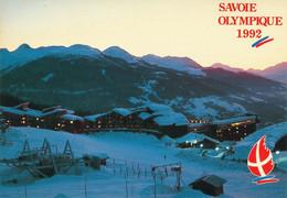Savoie Mont Blanc - Albertville  Olympique 1992 -  Enjeu Olympique - Les Arcs La Nuit - Juegos Olímpicos