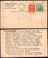 USA - 1944 - Letter - J.J. Berliner & Staff - To Buenos Aires, Argentina - A1RR2 - Covers & Documents