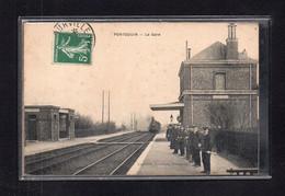 (22/12/20) 28-CPA PONTGOUIN - LA GARE - Other Municipalities