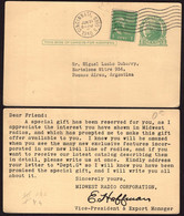 USA - 1940 - Letter - Midwest Radio Corporation To Buenos Aires, Argentina - A1RR2 - Covers & Documents