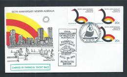 Australia 1979 Western Australia Anniversary Parmelia Yacht Race Special Cover, Neat Cds And Cachet - Non Classificati