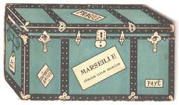 13 , Carte A Systeme 5 Vues , MARSEILLE Dans Une Malle , * 307 25 - Andere