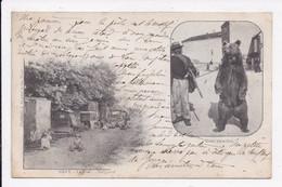CP 70 GRAY (Montreur D'Ours) La Rue Guignard - Gray