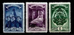 Russia  1948   Mi 1236-1238 MNH ** - Ungebraucht