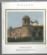 Cpa AL2 / First Day Cover Stamp / Enveloppe Timbrée Timbre Thème UNESCO BANGLADESH Mosquée De BAGERHAT - Bangladesh