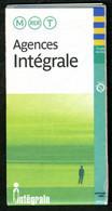Métro Paris - Agences-Intégrale (format Poche) - Complet - Septembre 2004 - Europe